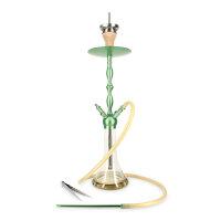 Shisha King - Alu Shisha SKS613 - Green Shaft Amber...