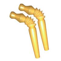 GSA - Hygiene Mundstücke biegbar (50Stk) - Gold