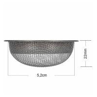 AO - Kopfsieb T-FLEX / STRAINER / PRO - D22mm