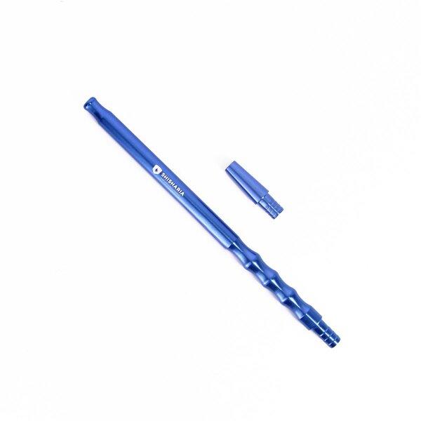 Shisharia - Aluminium Mundstück 30cm #07 - Blau