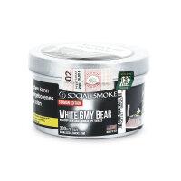 Social Smoke 200g - WHITE GMY BEAR