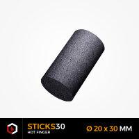 BLACKCOCO's - STICKS30 - 1 KG Premium Shisha Kohle Naturkohle