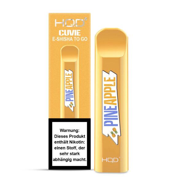 HQD CUVIE - Einweg E-Shisha - Pineapple
