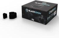 BLACKCOCO's - 1 KG Premium Shisha Kohle Naturkohle - Diamond Edition