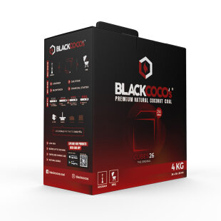 BLACKCOCO's - CUBES26 - 4 KG Premium Shisha Kohle Naturkohle