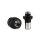 Caesar - Adapter für Glas Molassefänger 18er - Schwarz matt 2teilig